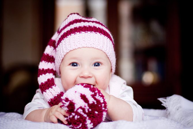 keep the baby warm