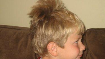 cowlick hair