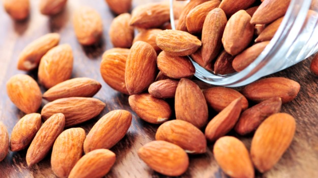 almonds for cracked lips