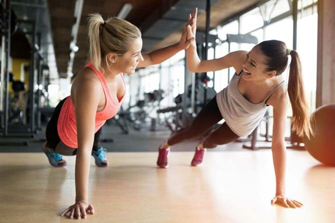 boosting fitness